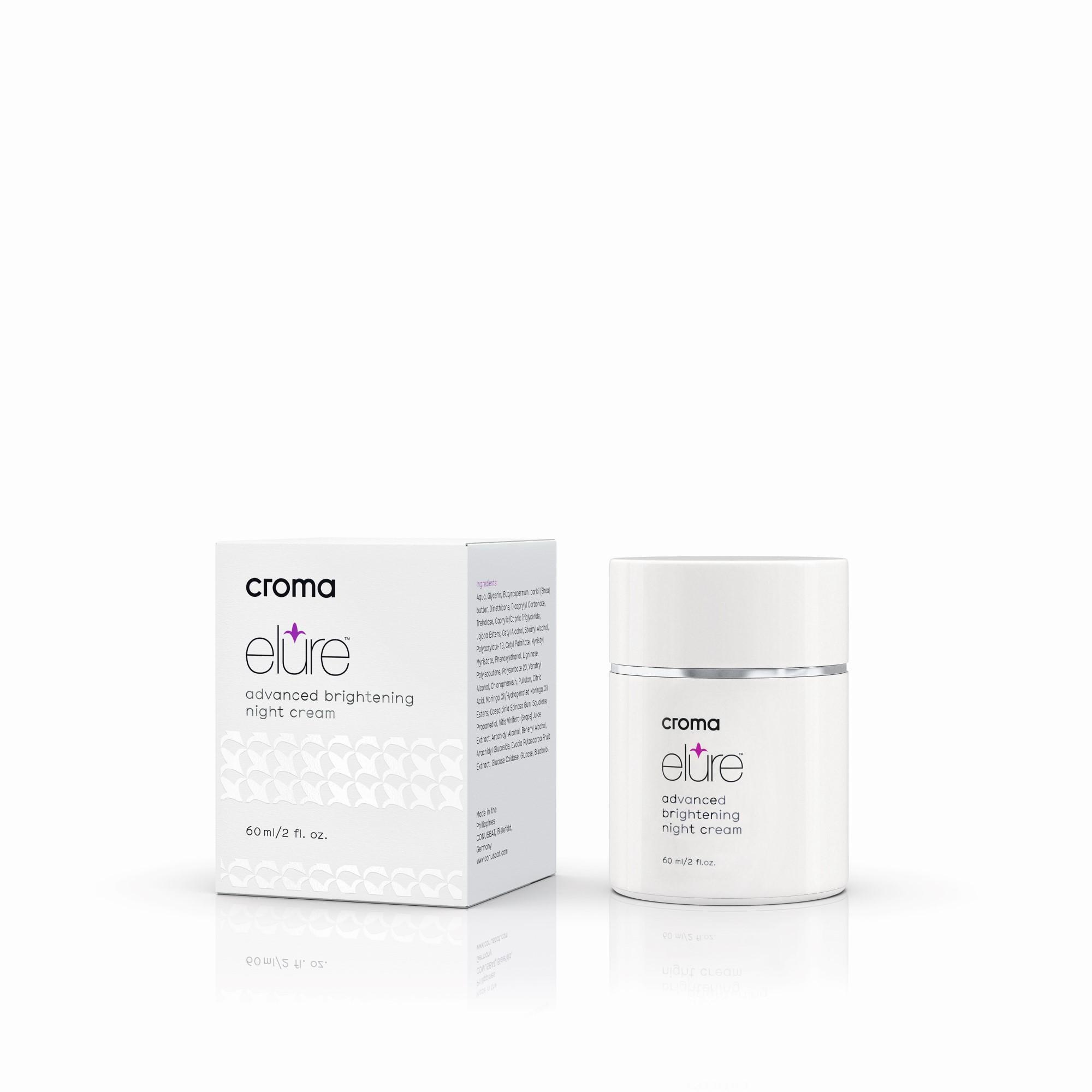 Elure geavanceerde verhelderende nachtcrème voor pigment