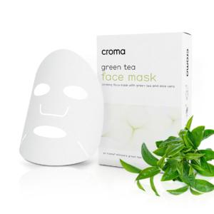 Princess kalmerend gezichtsmasker met groene thee en aloë vera(set 8 stuks)