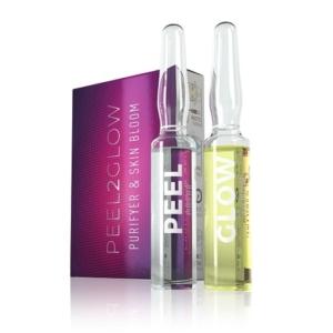 Purifyer & Skin Bloom voedt en herstelt de natuurlijke glans van de huid.