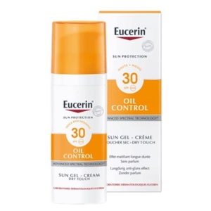 Sun Oil Control Gel-Crème SPF 30 zonnebrandCrème voor de acnegevoelige huid