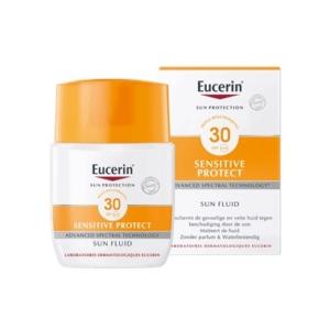 Sun Sensitive Protect Fluid SPF 30 zonbescherming voor gevoelige en vette huid